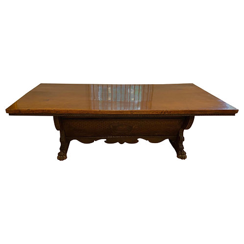 Impressive 17th Century Tuscan Baroque Walnut Dining Table