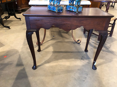 18th Century Irish Mahogany Table