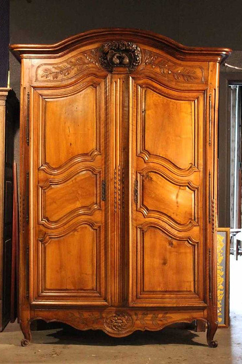 French Provincial Marriage Armoire