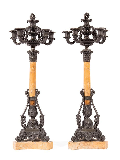 19th Century French Candelabras