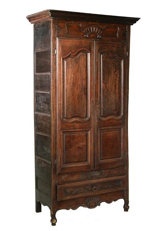 "18th Century Walnut Armoire (38"" wide)"