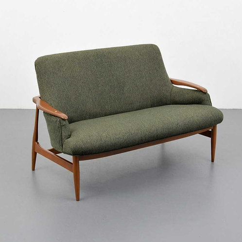 Settee in the manner of Finn Juhl