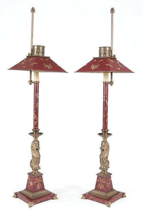 Pr. Frederick Cooper Tole Lamps
