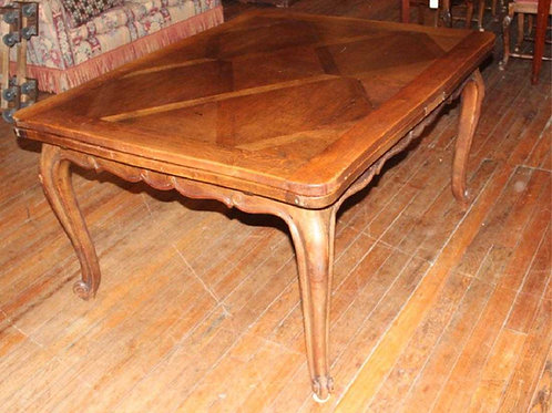 French Provincial Style Refractory Dining Table
