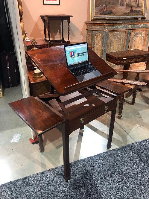 18th-19th Century English mahogany architect's desk
