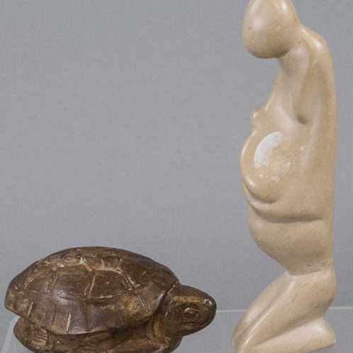 Modern marble figures