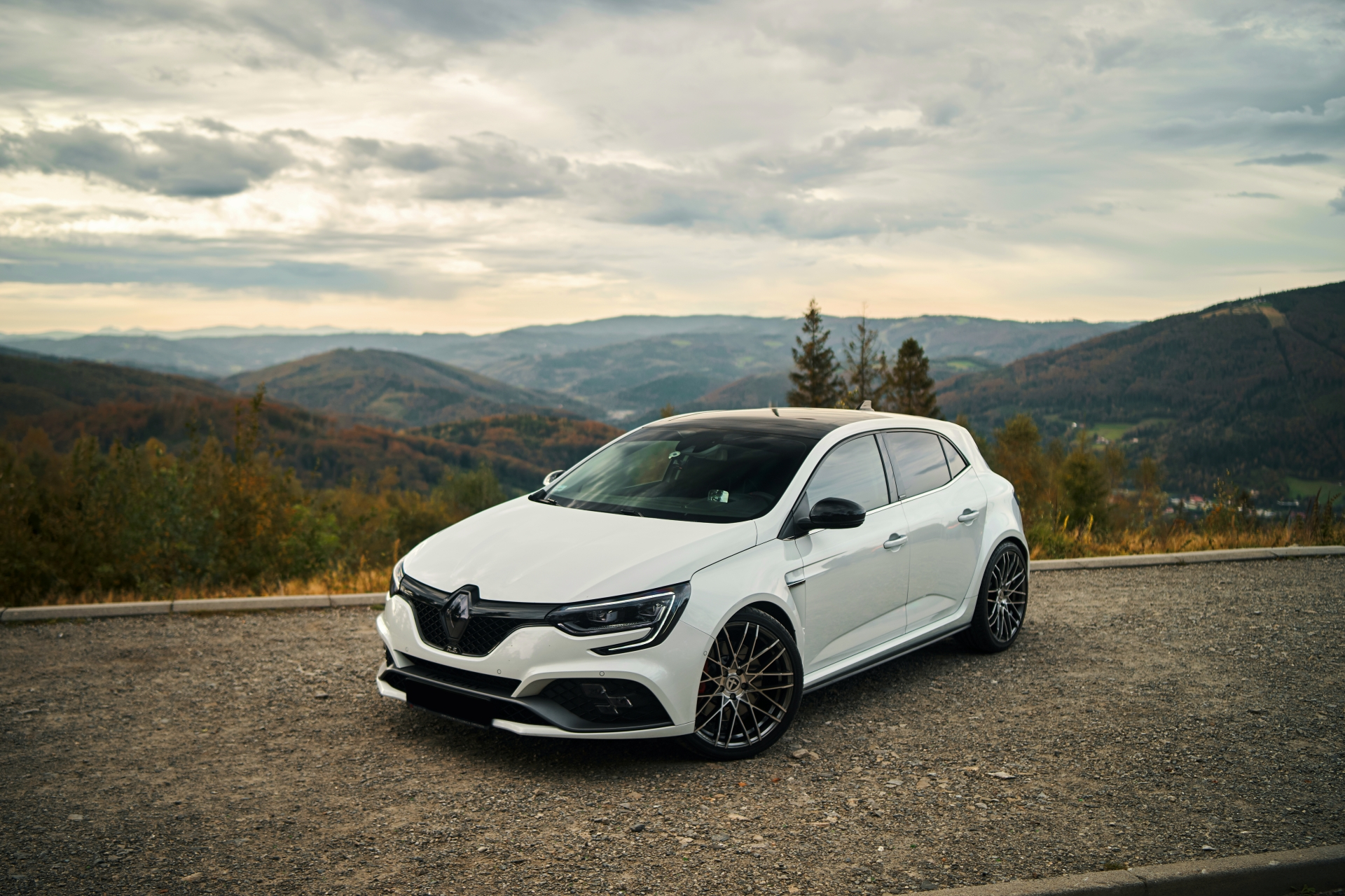 Megane RS Trophy in Beskidy