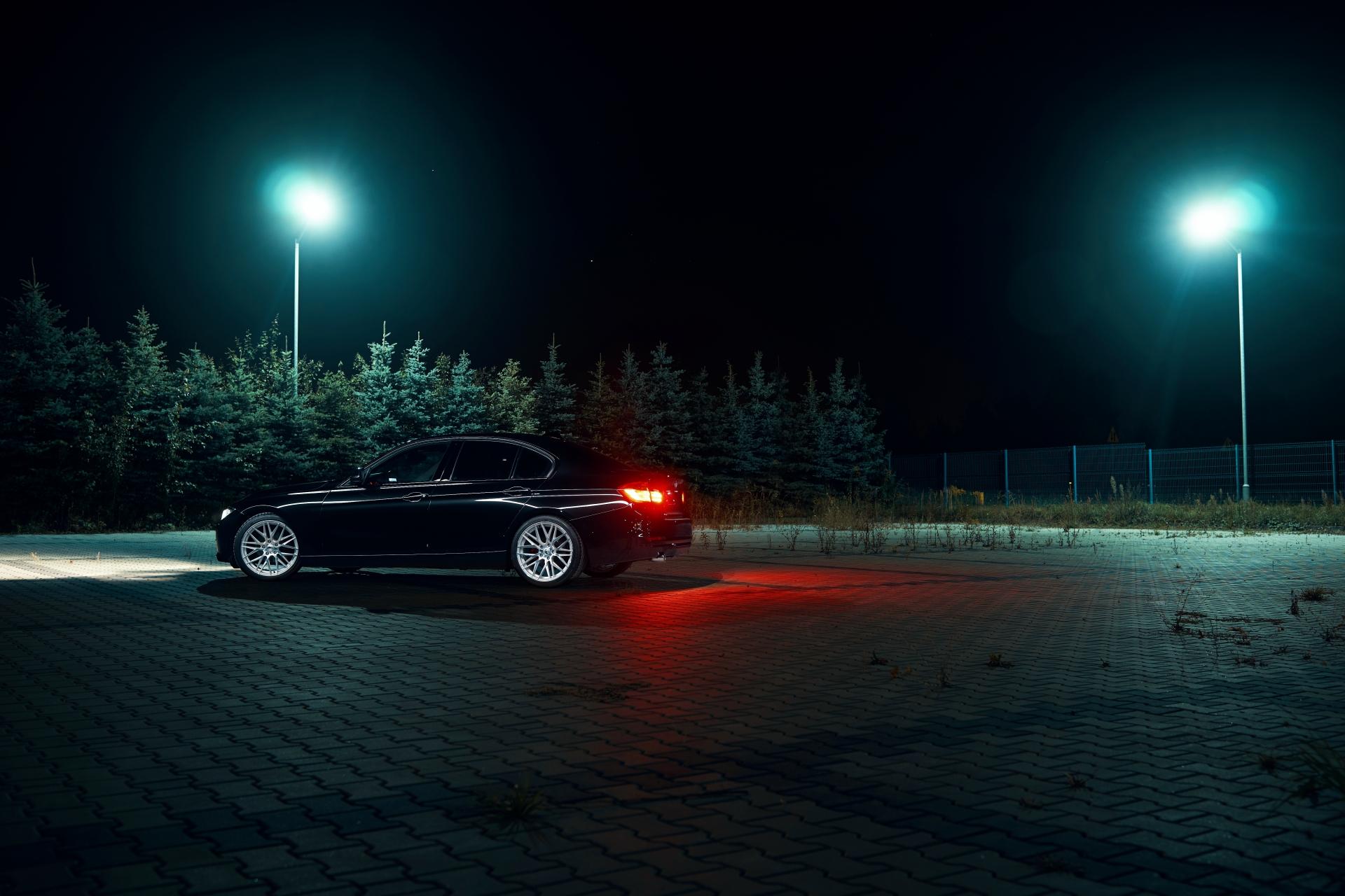 BMW 3 malowanie światłem