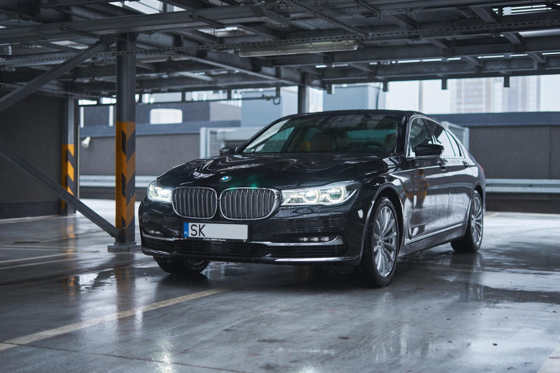 BMW 7 sesja sprzedażowa