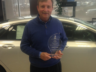 BBB Awards Fairway Ford Lincoln the Business of Integrity Award for Community Service