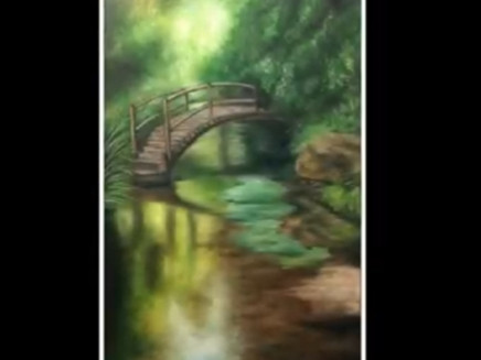 Painting a Landscape in Oil Colours