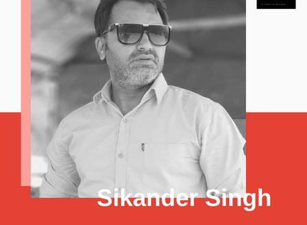 Sikander Singh : A True Aesthete