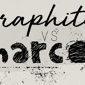 Graphite vs Charcoal :  Tips and Techniques and how same and different they are !