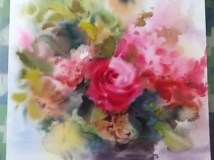 How to Paint Watercolor Florals?