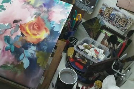 Guide to Painting Flowers in Watercolor
