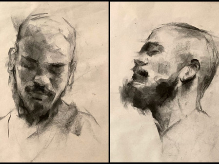 Block Sketching / Drawing for Oil Painting