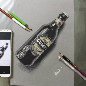 Step by Step Guide to Sketching a Glass Bottle