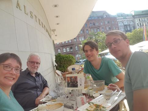 Hamburg, Germany | 31.07.2018 | Petra, Roland, Lennart & Lars