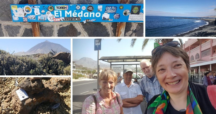 Tenerife, Spain | February 2019 | Marita, Cherif, Roland & Petra