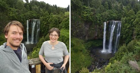 Omaru Falls, New Zealand | Feburary 2017 | Lennart & Petra