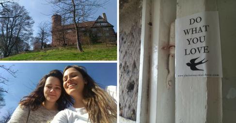 Burg Ludwigstein, Germany | March 2017 | Leonie & Maren