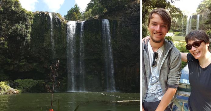 Whangarei Falls, New Zealand | January 2017 | Lennart & Petra