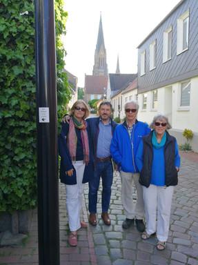 Schlei, Germany   May 2018   Olga, Thomas Horst & Hannelore