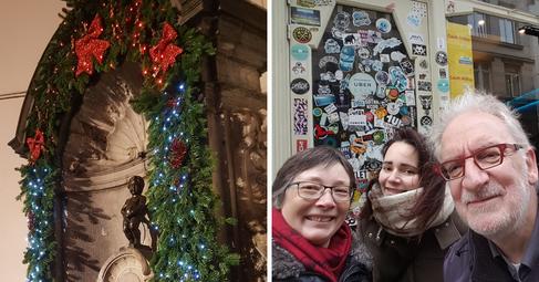 Brussels, Belgium | December 2019 | Petra, Maren & Roland