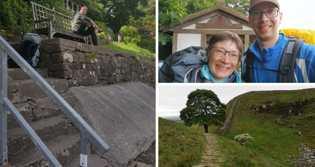 Hadrian's Wall Path, UK | June 2019 | Petra & Lars