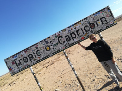 Tropic of Capricorn, Namibia | April 2018 | Lisa