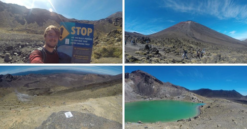 Tongariro Alpine Crossing, New Zealand | February 2017 | Lennart