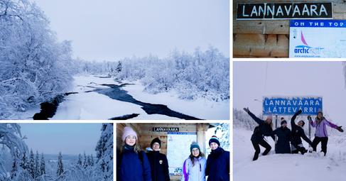 Lannavaara, Sweden | December 2020 | Stefanie, Katharina, Theresa & Birte