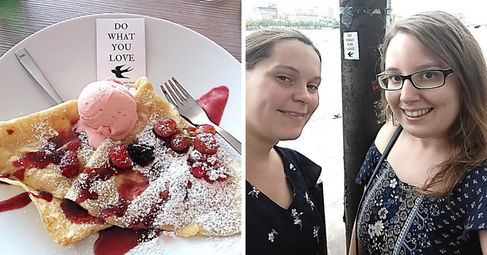 Binnenalster, Germany | 31.07.2018 | Sesle & Carina