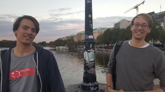 Hamburg, Germany   September 2018   Lennart & Lars