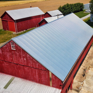 New Metal For An Old Barn