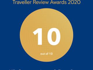 Traveller Review Awards 2020, reconocimiento de Booking.com para Jagüey 9