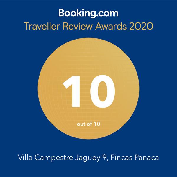 En Casa Campestre Jagüey 9 estamos orgullosos de compartir con nuestros clientes y seguidores este reconocimiento por tercer año consecutivo, de nuevo nuestra pasión por el servicio ha sido recompensada a través de Booking.com, gracias a la calificación perfecta que nos dieron nuestros huéspedes a lo largo del año 2019😍🏆🥇 #GuestsLoveUs, #panaca, #Panatours, #ejecafetero, #turismo, #vacaciones, #fincaspanaca, #turismoyaventura, #avistamiento de aves, #fincasejecafetero, #colombia, #vacacionesencolombia, #vacacionesenelejecafetero