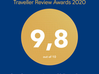Traveller Review Awards 2020, reconocimiento de Booking.com para Jagüey 20