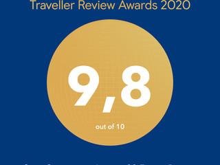 Traveller Review Awards 2020, reconocimiento de Booking.com para Jagüey 20