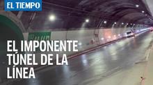 Inauguración del Túnel de la Línea