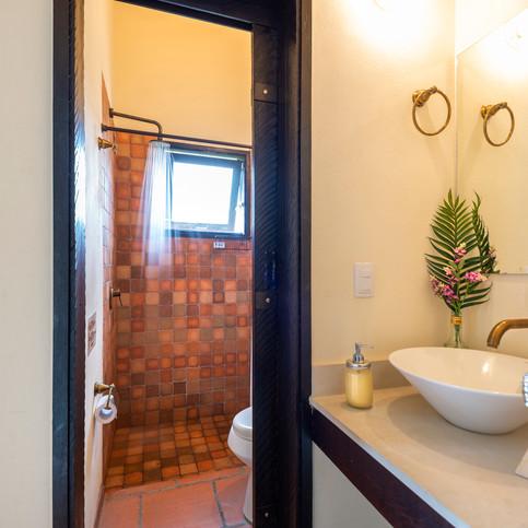 Baño privado para cada habitación