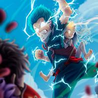 Deku e Eri x Overhaul (Boku No Hero Academia)