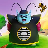 Senhor Kaioh, Bubbles e Gregory (Dragon Ball)