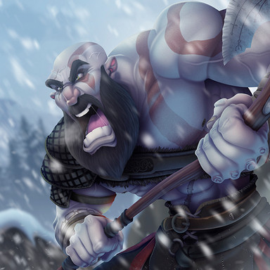 Kratos (God Of War 4)