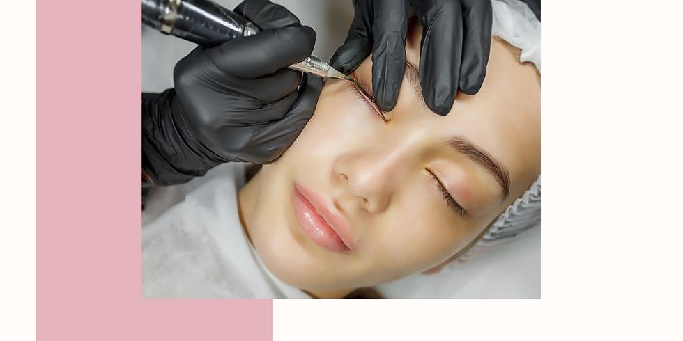 Lidstrich - Eyeliner Masterclass - Permanent Make Up Schulung in Ingolstadt.