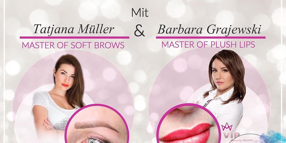 Masterclass Permanent Make Up ( 2Tage ) Augenbrauen Soft Brows + Lippen Plush Lips -IN BALINGEN