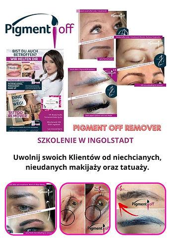 Szkolenie pigment off remover Ingolstadt