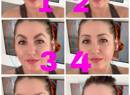 Was ist hier passiert mit die Augenbrauen? Permanent Make Up  Trend?