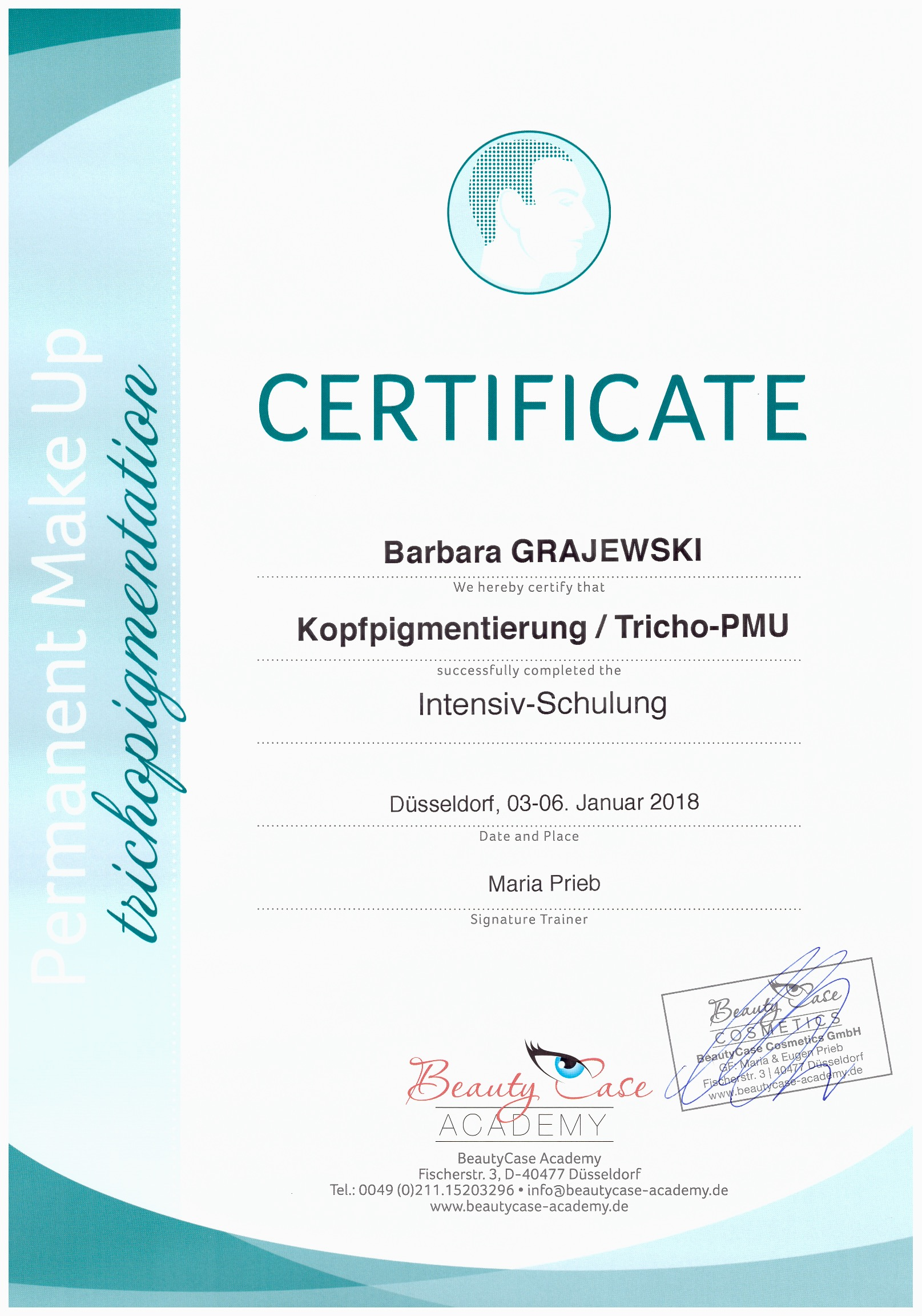 Grajewski Vip beauty studio -Trichopigme