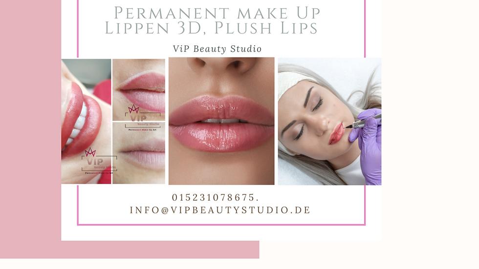 Masterclass-Level-Tag / Perfektionstraining Lippen Vollschattierung Plush Lips
